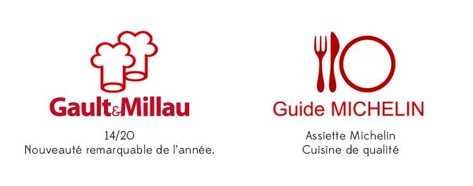 Distinctions Michelin Gault et Millau